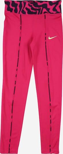 Sportinės kelnės 'One' iš NIKE , spalva - tamsiai mėlyna / fuksijų spalva / balta, Prekių apžvalga