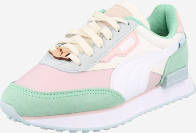 PUMA Sneaker 'Future Rider' in beige / azur / mint / rosa / weiß, Produktansicht