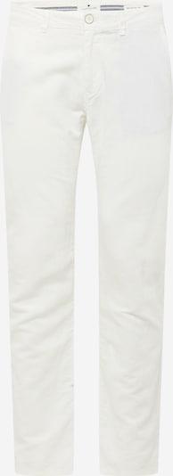 TOM TAILOR Pantalon chino 'Travis linen chino' en blanc cassé, Vue avec produit