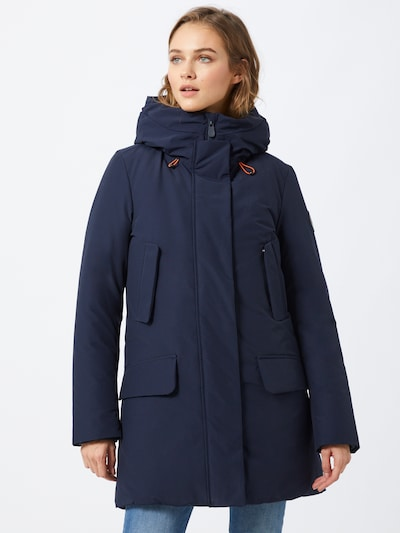 SAVE THE DUCK Winterparka 'Cappotto Cappuccio' in dunkelblau, Modelansicht