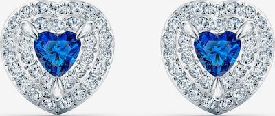 Swarovski Boucles d'oreilles en bleu / argent, Vue avec produit