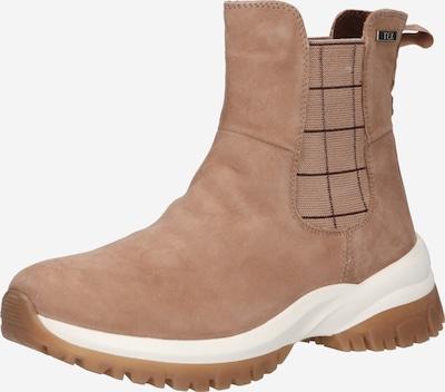 CAPRICE Chelsea Boots in sand / dunkelbraun, Produktansicht