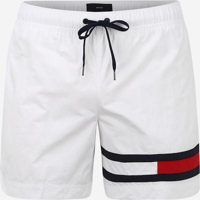 Tommy Hilfiger Underwear Shorts de bain en marine / rouge clair / blanc, Vue avec produit