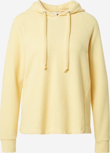 TOM TAILOR DENIM Sweatshirt in de kleur Pasteelgeel, Productweergave