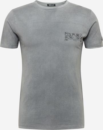 REPLAY T-Shirt in Grau
