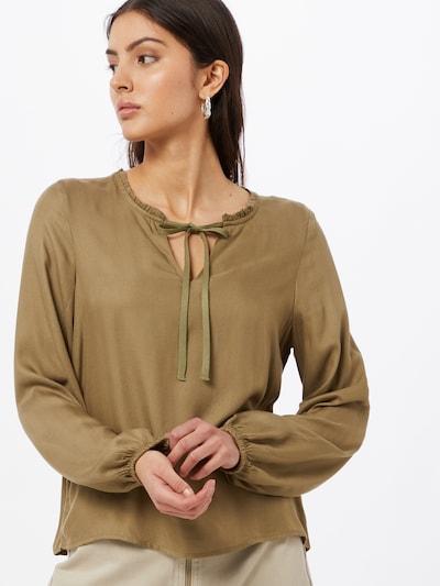 ONLY Bluse 'ANNALIE' in oliv, Modelansicht