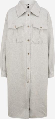 Y.A.S Tall Between-Seasons Coat 'MACKAYLA' in Grey
