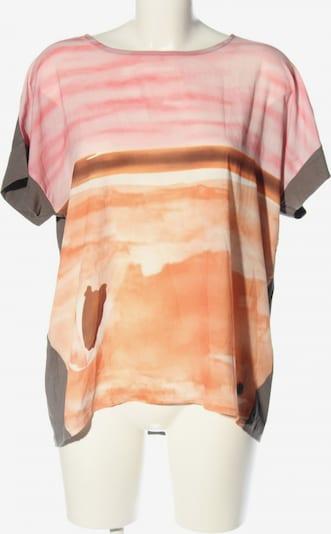 PUR Schlupf-Bluse in XL in hellgrau / hellorange / pink, Produktansicht