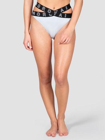MOROTAI Athletic Bikini Bottoms in Grey
