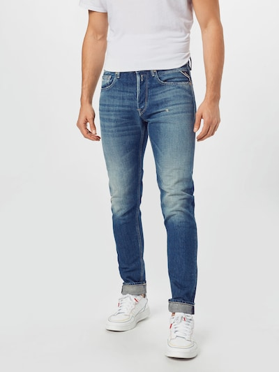 REPLAY Jeans 'WILLBI' in blau, Modelansicht