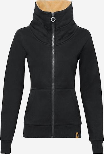 Fli Papigu Sweatjacke 'Beast Mode' in schwarz, Produktansicht