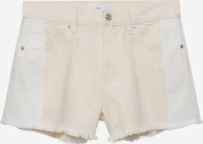 MANGO Shorts 'CINDY' in beige / weiß, Produktansicht