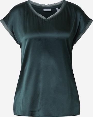 s.Oliver BLACK LABEL Shirt in Green
