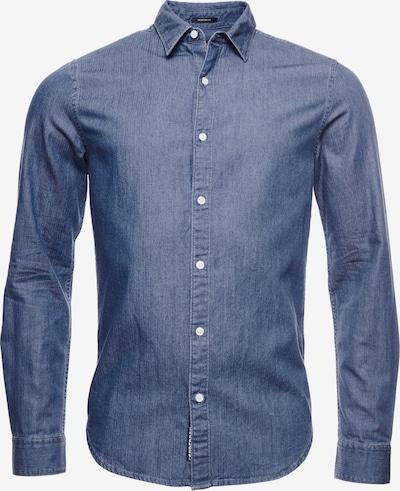 Superdry Hemd 'Loom' in blue denim, Produktansicht