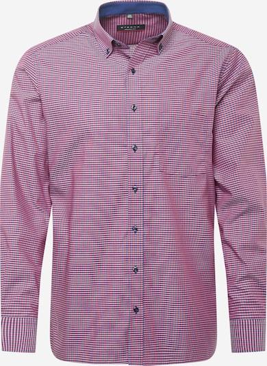 ETERNA Forretningsskjorte i blå / rød / hvid, Produktvisning