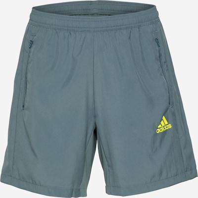 ADIDAS PERFORMANCE Sportbroek in de kleur Opaal / Geel, Productweergave