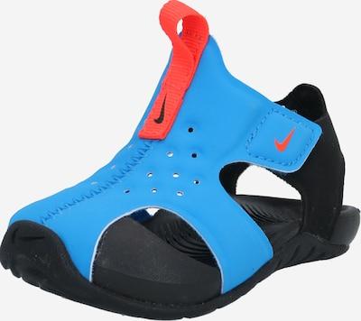 NIKE Plážová/koupací obuv 'Sunray Protect' - světlemodrá / světle červená / černá, Produkt