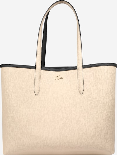 LACOSTE Shopper 'Anna' in creme / schwarz, Produktansicht
