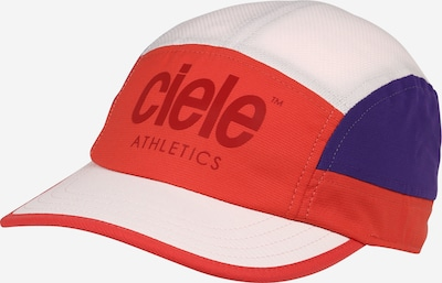 CIELE ATHLETICS Athletic Cap in Royal blue / Wine red / Melon / White, Item view