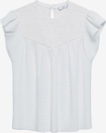 MANGO Shirt 'ADELINA' in White