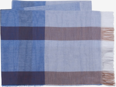 MJM Schal 'Rita' in blau / hellblau / grau, Produktansicht