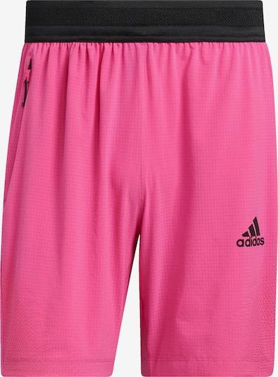 ADIDAS PERFORMANCE Urheiluhousut värissä vaaleanpunainen / musta, Tuotenäkymä