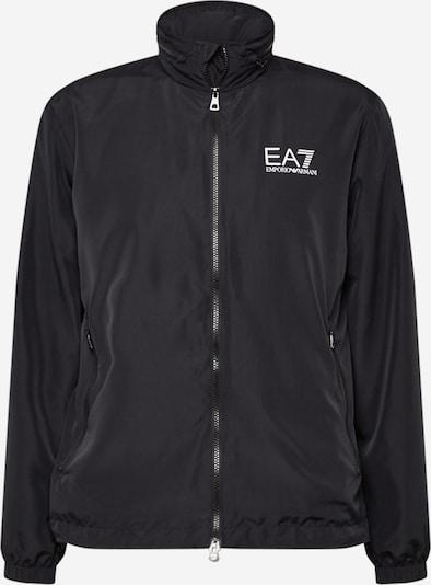 EA7 Emporio Armani Veste mi-saison en noir / blanc, Vue avec produit