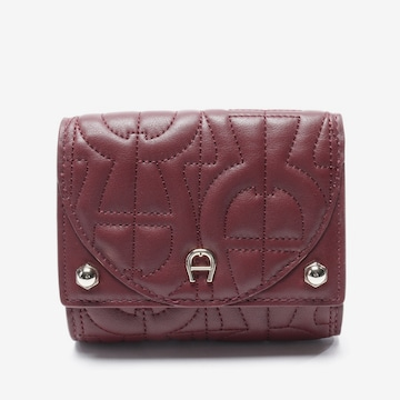 AIGNER Small Leather Goods in One size in Red
