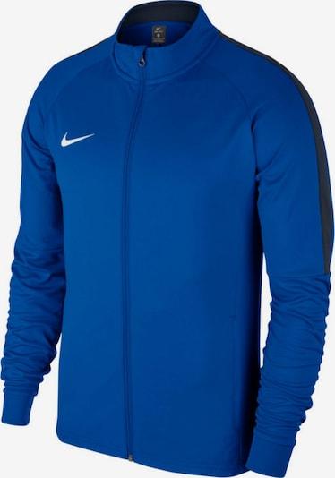 NIKE Sportjacke in blau / weiß, Produktansicht