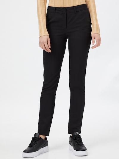 """""""Chino"""" stiliaus kelnės iš NEW LOOK , spalva - juoda, Modelio vaizdas"""