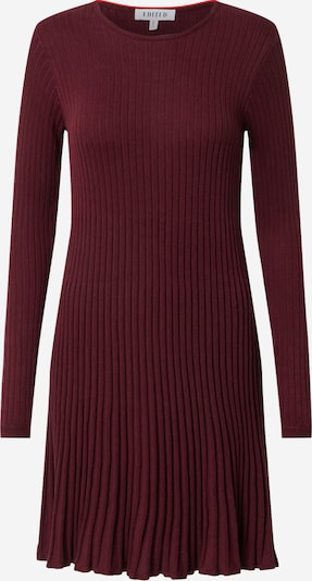 EDITED Kleid 'Katrin' in burgunder, Produktansicht