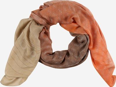 GUESS Šál 'ALISA' - piesková / hnedá / oranžová, Produkt