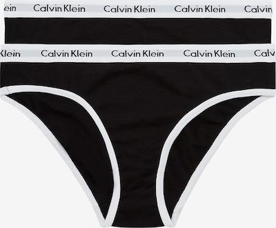 Calvin Klein Underwear Slip in schwarz / weiß, Produktansicht