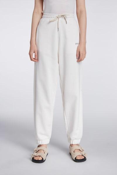 SET Hose in schwarz / weiß, Modelansicht