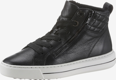 ARA Baskets hautes 'Courtyard' en noir / blanc, Vue avec produit