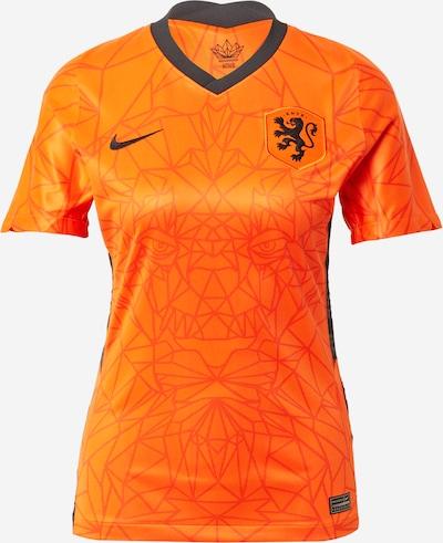 NIKE Trikot 'Netherlands 2020 Stadium Home' in orange / schwarz, Produktansicht