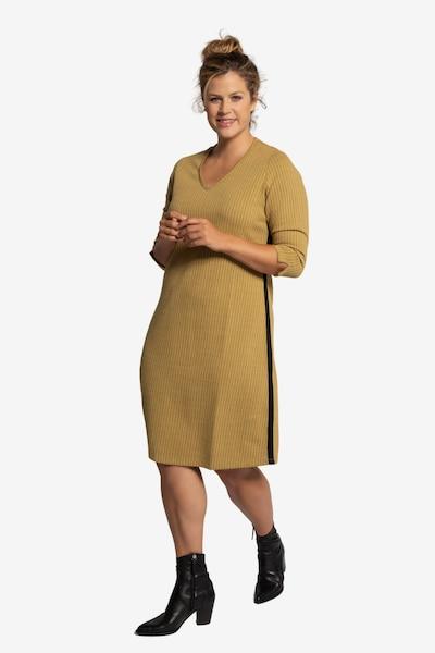 Ulla Popken Kleid in braun, Modelansicht