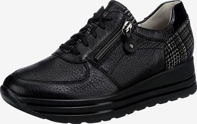 WALDLÄUFER Sneaker ' H-lana' in schwarz / silber, Produktansicht
