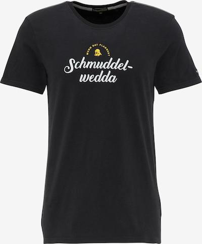 Schmuddelwedda T-Shirt in schwarz: Frontalansicht