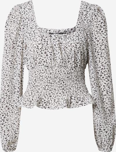 Missguided (Tall) Blouse in de kleur Zwart / Wit, Productweergave