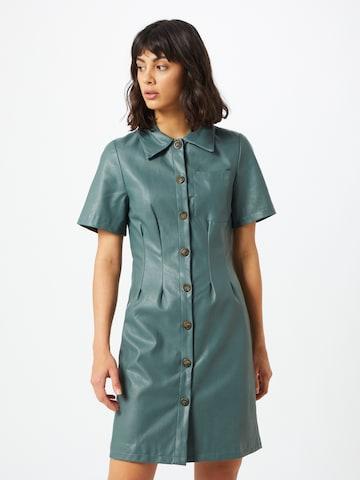 Unique21 Shirt Dress in Blue