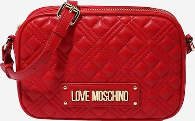 Love Moschino Tasche in gold / dunkelrot, Produktansicht