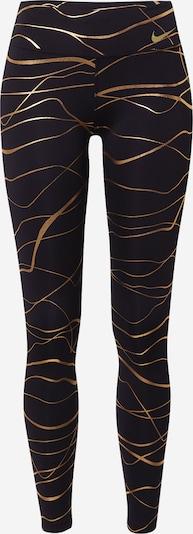 Pantaloni sport 'Clash Fast' NIKE pe auriu / negru, Vizualizare produs