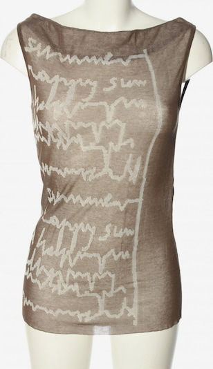 Annette Görtz Stricktop in XS in bronze / weiß, Produktansicht