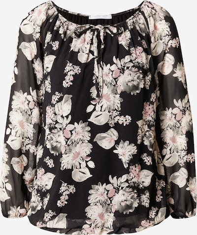 Hailys Bluse 'Cara' in rosa / schwarz / weiß, Produktansicht