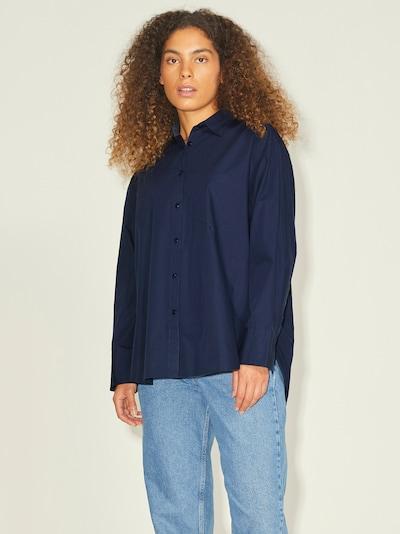 JJXX Bluse 'Jamie' in dunkelblau, Modelansicht