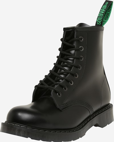 Solovair Lace-up boots '8 Eye Derby' in Black, Item view