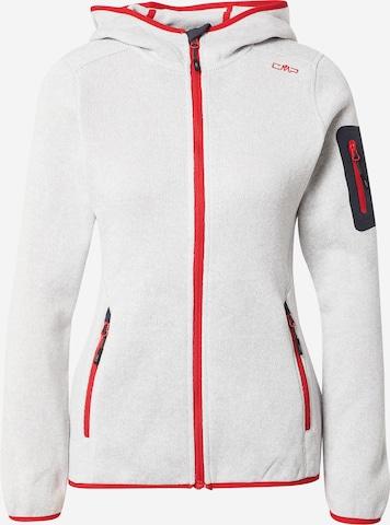 CMP Athletic Fleece Jacket in White