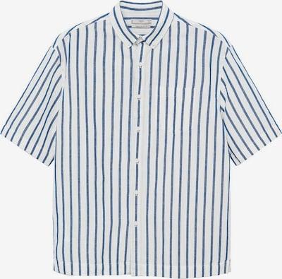 MANGO MAN Hemd 'Flet' in navy / weiß, Produktansicht