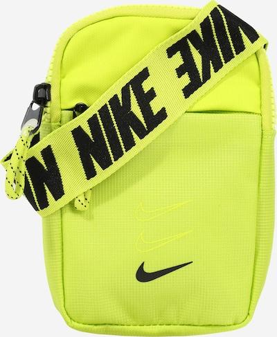 Nike Sportswear Schoudertas 'Advance' in de kleur Neongeel / Zwart, Productweergave